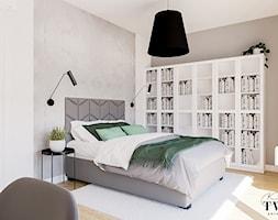 Projekt Domu - Sypialnia, styl nowoczesny - zdjęcie od Klaudia Tworo Projektowanie Wnętrz - Homebook