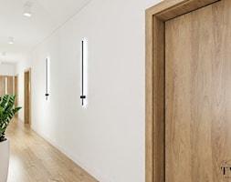 Dom Dęby Wolskie - Hol / przedpokój, styl nowoczesny - zdjęcie od Klaudia Tworo Projektowanie Wnętrz - Homebook