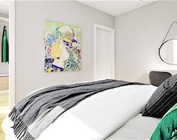 Skandynawska+sypialnia+z+betonem+-+zdj%C4%99cie+od+Klaudia+Tworo+Projektowanie+Wn%C4%99trz