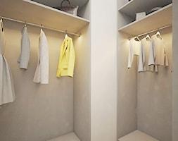 Żoliborz Artystyczny 88,5 - Mała zamknięta garderoba, styl nowoczesny - zdjęcie od Klaudia Tworo Projektowanie Wnętrz