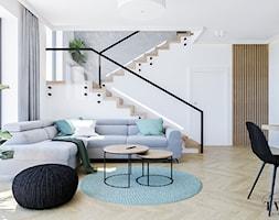 Projekt Domu - Salon, styl nowoczesny - zdjęcie od Klaudia Tworo Projektowanie Wnętrz - Homebook