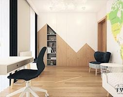 Łódź Górna - Projekt Wnętrza Domu - Pokój dziecka, styl nowoczesny - zdjęcie od Klaudia Tworo Projektowanie Wnętrz - Homebook
