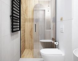%C5%81azienka+z+prysznicem+szaro%C5%9B%C4%87+i+drewno+-+zdj%C4%99cie+od+Klaudia+Tworo+Projektowanie+Wn%C4%99trz