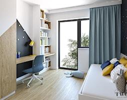 Projekt Domu - Pokój dziecka, styl nowoczesny - zdjęcie od Klaudia Tworo Projektowanie Wnętrz - Homebook