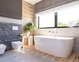 Projekt Domu - Łazienka, styl nowoczesny - zdjęcie od Klaudia Tworo Projektowanie Wnętrz - Homebook