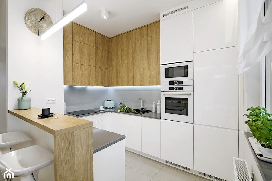 Kuchnia Biel I Drewno Zdjęcie Od Klaudia Tworo