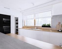 Dom Dęby Wolskie - Kuchnia, styl nowoczesny - zdjęcie od Klaudia Tworo Projektowanie Wnętrz - Homebook