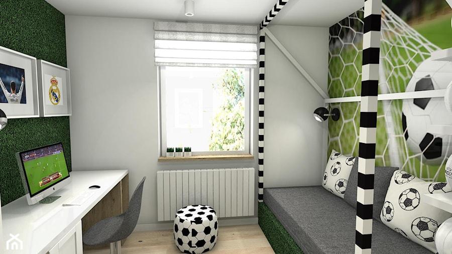 Pokój piłkarski - Pokój dziecka, styl nowoczesny - zdjęcie od 6walls studio - homebook