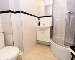 Realizacja - Rayskiego - Szczecin - Mała łazienka w bloku bez okna - zdjęcie od Home Staging Szczecin