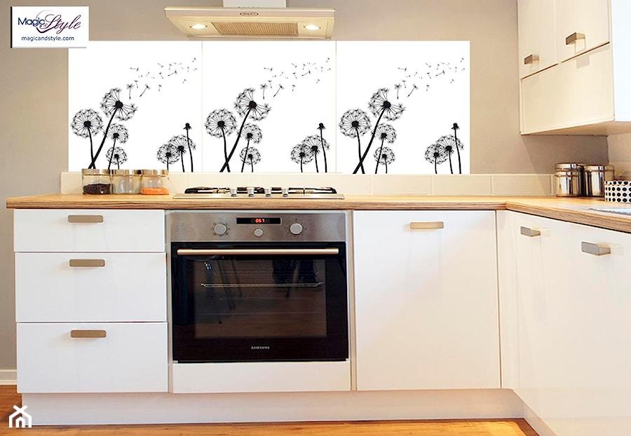 Panel Szklany Do Kuchni 60x60cm Dmuchawce Iii Zdjęcie Od