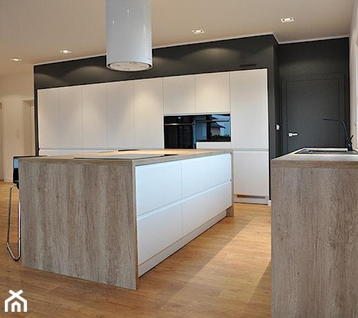 Dom pod Poznaniem  Kuchnia, styl minimalistyczny