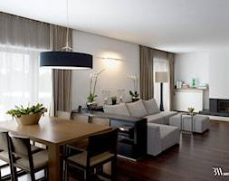 Salon+z+jadalni%C4%85+-+zdj%C4%99cie+od+Bartek+W%C5%82odarczyk+Architekt
