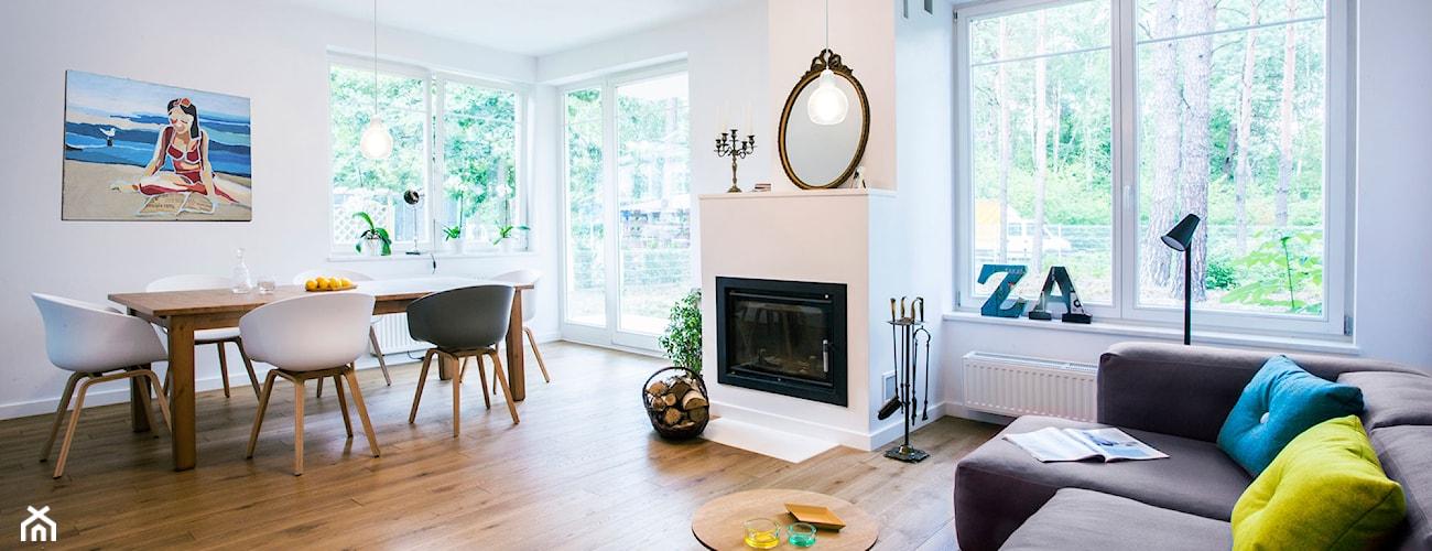 Salon styl Skandynawski - zdjęcie od Hekkelstrand