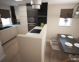 Kuchnia Na Wymiar Z Jadalnia W Domu Jednorodzinnym Krakow Projekt