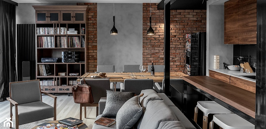 TOP 10 salonów w stylu loftowym – #zostańwdomu i zainspiruj się