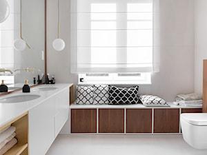 Gdyńska Modernistyczna Willa - Średnia łazienka, styl klasyczny - zdjęcie od SIKORA WNĘTRZA