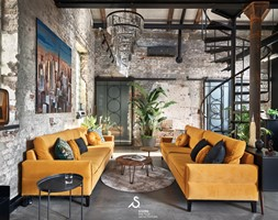 salon - symetria i piękno - zdjęcie od SIKORA WNĘTRZA - Homebook