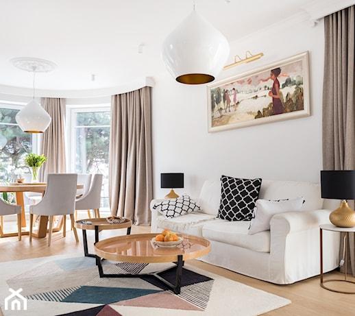 Jakie meble, oświetlenie i dekoracje wybrać do salonu?