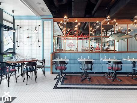Aranżacje wnętrz - Wnętrza publiczne: Seafood Station - Wnętrza publiczne, styl kolonialny - SIKORA WNĘTRZA. Przeglądaj, dodawaj i zapisuj najlepsze zdjęcia, pomysły i inspiracje designerskie. W bazie mamy już prawie milion fotografii!