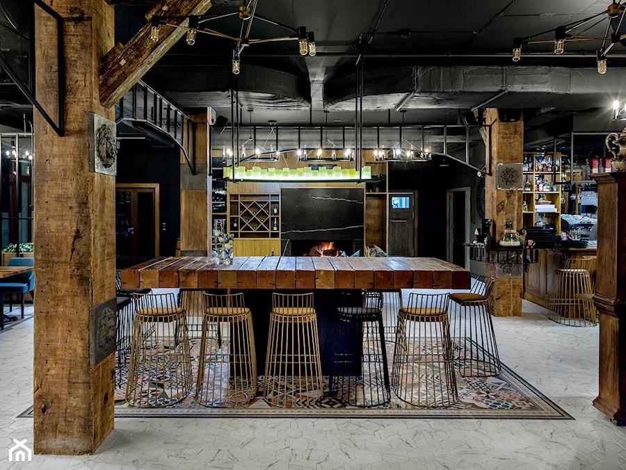 RESTAURACJA JASTNY DWÓR - Wnętrza publiczne, styl industrialny - zdjęcie od SIKORA