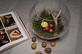 dekoracja świąteczna w akwarium