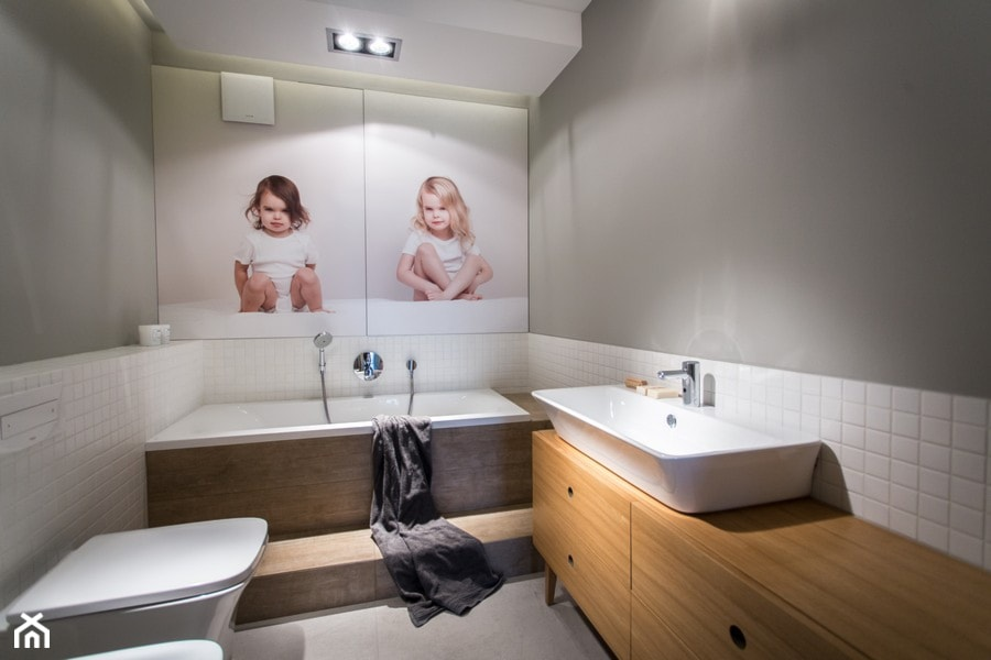 Dom Na Wsi łazienka Styl Skandynawski Zdjęcie Od