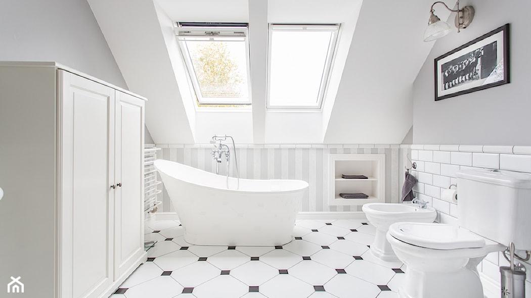 Jak Urządzić łazienkę Na Poddaszu Praktyczne Porady I Dużo