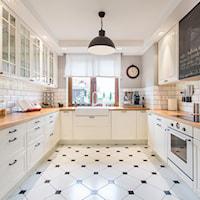 Stylowa i praktyczna aranżacja okna kuchennego, Dekoracja okna, Kuchnia