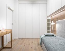 Carrara - Duży biały pokój dziecka dla chłopca dla dziewczynki dla ucznia dla nastolatka, styl mini ... - zdjęcie od emDesign home & decoration - Homebook