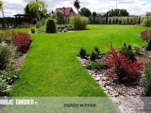 Ogród z pionowym skalniakiem