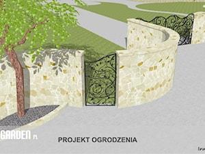 Projekt ogrodzenia