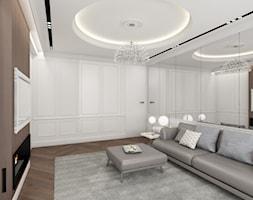 salon - zdjęcie od Anna Maria Sokołowska Architektura Wnętrz (dawniej Pracownia Projektowa Dragon Art )