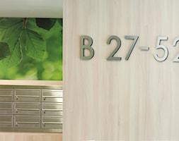 Części wspólne - Apartamenty na Polanie - Ekolan- Gdynia - Wnętrza publiczne, styl nowoczesny - zdjęcie od Anna Maria Sokołowska Architektura Wnętrz (dawniej Pracownia Projektowa Dragon Art )
