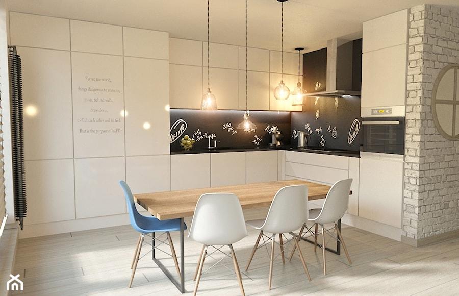 Kuchnia  Dublin Loft   zdjęcie od Pracownia Projektowa Jinako -> Mala Kuchnia Loft