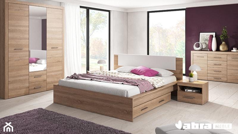 Sypialnia One Dąb Sonoma Zdjęcie Od Abra Meble Homebook