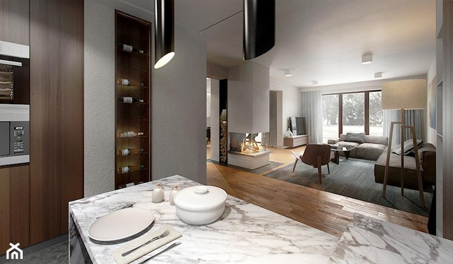 kuchnia biały marmur  zdjęcie od Atelier58 -> Kuchnia Z Marmuru