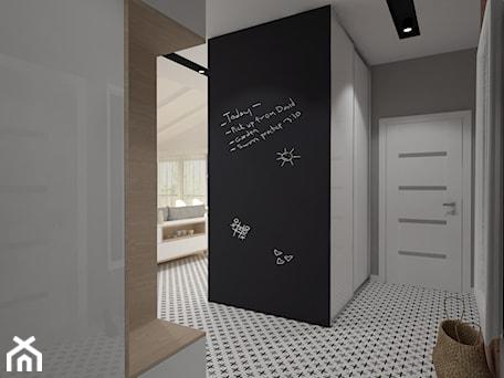 Aranżacje wnętrz - Hol / Przedpokój: Mieszkanie na poddaszu w stylu skandynawskim - Hol / przedpokój, styl skandynawski - Miliart Studio. Przeglądaj, dodawaj i zapisuj najlepsze zdjęcia, pomysły i inspiracje designerskie. W bazie mamy już prawie milion fotografii!