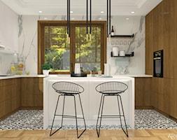 Dwie wersje kuchni - Kuchnia, styl nowoczesny - zdjęcie od Atelier Art&Design - Homebook