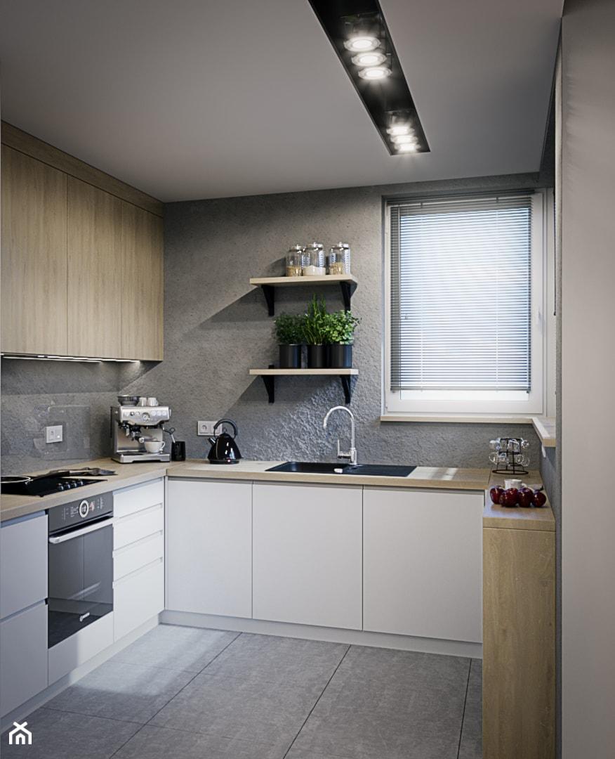 Mieszkanie os. Wilno - Kuchnia, styl nowoczesny - zdjęcie od DEDEKO