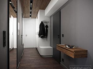 Mieszkanie 62 m2 Siedlce - Hol / przedpokój, styl nowoczesny - zdjęcie od DEDEKO