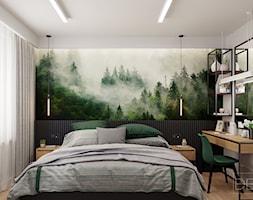 Mieszkanie Siedlce 70m2 - Sypialnia, styl nowoczesny - zdjęcie od DEDEKO - Homebook
