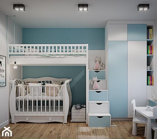 Jak urządzić mały pokój dla rodzeństwa w różnym wieku?