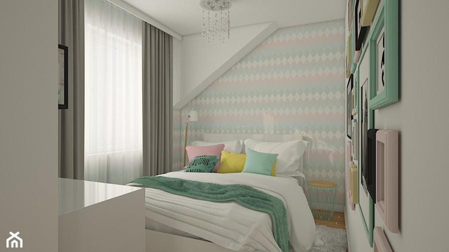 Aranżacje wnętrz - Pokój dziecka: Projket pokoju w pastelowych barwach - MyWay Design. Przeglądaj, dodawaj i zapisuj najlepsze zdjęcia, pomysły i inspiracje designerskie. W bazie mamy już prawie milion fotografii!