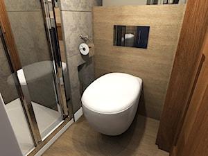 Projekt łazienki Warszawa Zoliborz - zdjęcie od Hirszberg Pracownia Architektoniczna