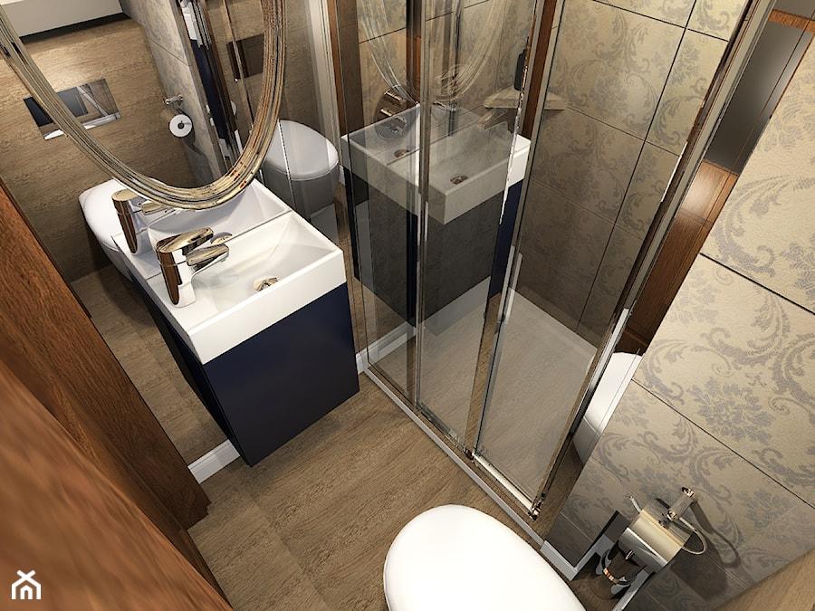 Projekt łazienki Warszawa Zoliborz Zdjęcie Od Hirszberg