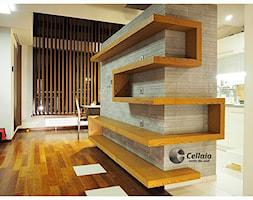 Wytrzymałe Półki W Salonie Kolekcja Cellaio Dla Moli