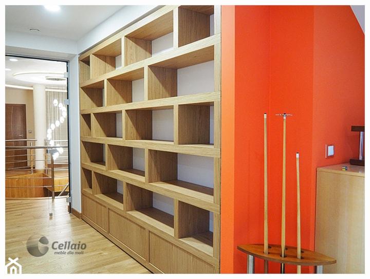 Aranżacje wnętrz - Biuro: Cellaio - biblioteczki i półki na książki - Cellaio - dla moli.. Przeglądaj, dodawaj i zapisuj najlepsze zdjęcia, pomysły i inspiracje designerskie. W bazie mamy już prawie milion fotografii!