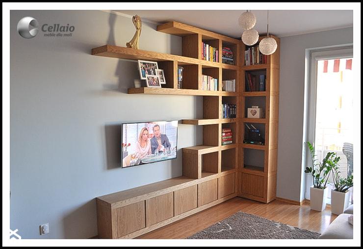 Biblioteczka cianka tv zdj cie od cellaio dla moli for Biblioteczka w salonie