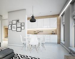 Apartament na Powiślu, 62,9 m². - zdjęcie od Decoroso Architektura Wnętrz