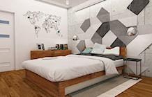 Sypialnia styl Industrialny - zdjęcie od Dekoncept